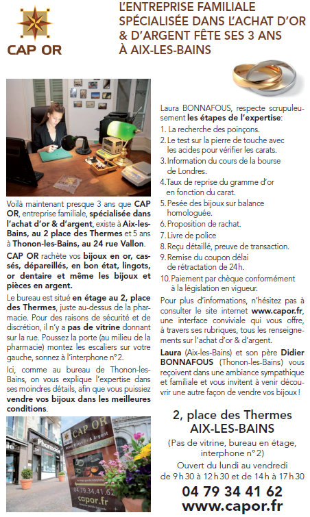 Article du Dauphiné Libéré paru le 09 Août 2015